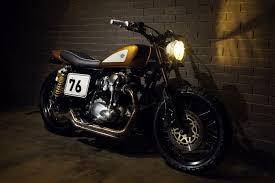 gold motorcycle digger