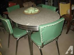 retro table and chairs for sale amazing chrome dinette chairs with retro chrome dining room sets
