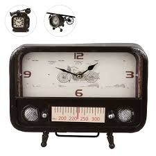 Wohnzimmer Uhren Zum Hinstellen Uhr Im Industriestil Tedi Shop