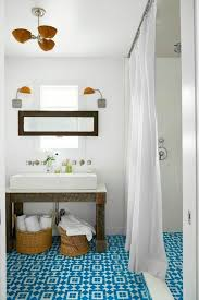 Mexican Tile Bathroom Ideas Colors Contemporary 3 4 Bathroom With Mexican Tile U0026 Vessel Sink Zillow