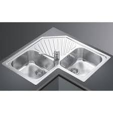 Kitchen Corner Sink by Stainless Steel Corner Kitchen Sink Befon For
