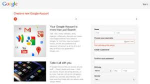 Gmail Sign Up How To Sign Up For A Account Without Being Forced Into