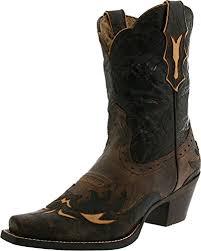 ariat s boots canada amazon com ariat s dahlia cowboy boot ankle bootie