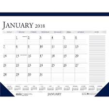 cool desk pad calendars 2018 house of doolittle 18 5 x 13 desk pad calendar two color with
