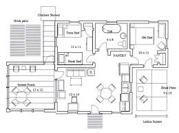 kitchen floor plan with dimensions home design