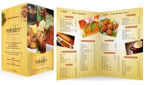 Designs Of Menu Card Menu Mahadev Restaurant Hd The Designer