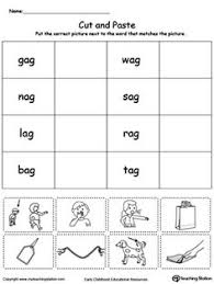 phonics worksheets on short vowels teaching pinterest