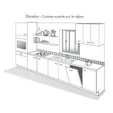 profondeur plan de travail cuisine largeur plan travail cuisine plan de cuisine linacaire profondeur