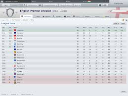 english soccer league tables english first division league table