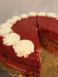 red velvet cheesecake the cakeroom bakery shop