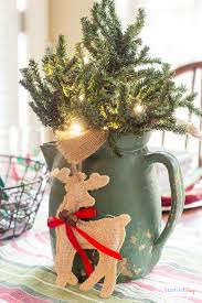 christmas decorated home how to use vintage decor at christmas atta girl says