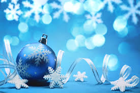 blue spirit new year toys balls ornament