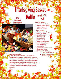 2017 performing thanksgiving basket raffle tickets in san