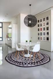 best 25 rug dining table ideas on formal circle rugs rectangle or square how to choose rug shape