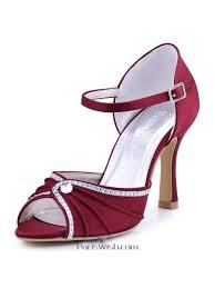 burgundy wedding shoes evening shoes wedding shoes shoes pariswish