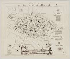 Rouen France Map by Maps Of Rouen Archexpo