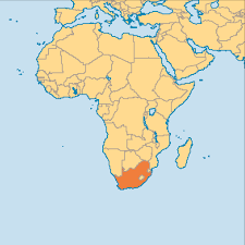 Map South Africa Nov 01 South Africa Operation World