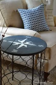 Coffee Table With Wheels Pottery Barn - furniture coastal end tables nautical coffee table pottery