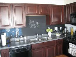 28 chalkboard backsplash concrete finish studio apartments