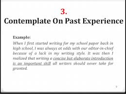 a good introduction paragraph example great college