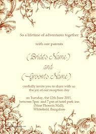 wedding reception wording wedding reception invitation wording indian sles from and
