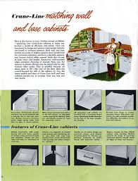 How To Install A Kitchen Cabinet On The Wall by 1953 Crane Kitchen Cabinets 26 Photos Complete Catalog Retro