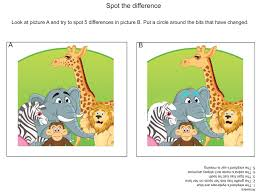 5 free spot the difference games to download and print learning