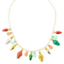 christmas light necklace glitter christmas lights gold necklace s us