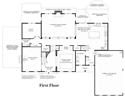 Micro Floor Plans by Bromley Estates At Weddington The Raphael Home Design
