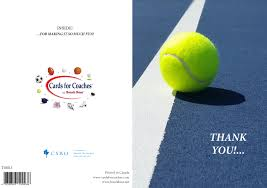 tennis cards for coaches