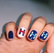 the nail snail election day nail art