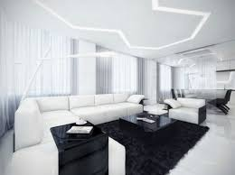 white livingroom living room decor with white unique black and white chairs living