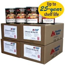 Mountain House Food by Mountain House 30 Day 2 Person Food Supply 10 Cans