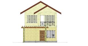two storey building two storey residential building front elevation by missjahz on