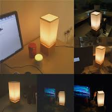 finether minimalist novelty romantic bedside table lamps for