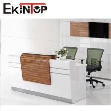 Inexpensive Reception Desk Small Reception Desk Handyman How 2 Building A Round Reception