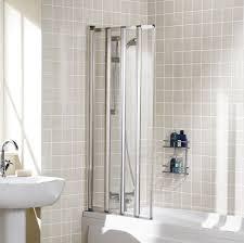 lakes framed four panel folding bath shower screen 730mm ss85 05