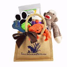 Pet Gift Baskets Salt Marsh Pets Unique Funky Luxury Pet Gift Baskets Eco Products