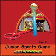 junior sport game 5 in 1 backyard inflatables