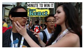 win it all cast minute to win it w teens react cast at vidcon boston tom