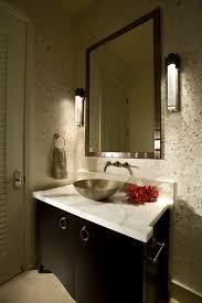 powder bath ideas powder room modern with dark wood cabinets bath