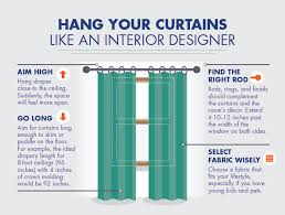 how to hang curtains like an interior designer above 12 Foot Curtains
