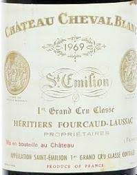 learn about chateau cheval blanc 1969 château cheval blanc bordeaux libournais st