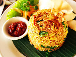 cuisine bali bali style fried rice stock image image of balanced 54340905