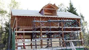 A Frame Style Homes by How I Learned To Build A House Timber Frame Style Part 3 The