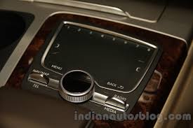 audi touchpad 2016 audi q7 mmi touchpad launched in india indian autos