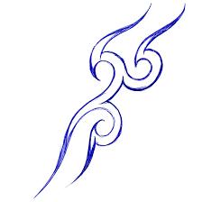 tribal tattoo hand drawn by kinguchia666 on deviantart