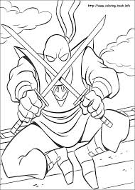 mutant ninja turtles coloring picture