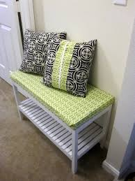 Ikea Molger Bench Home Thrifty Home Ikea Shower Bench Turned Shoe Storage