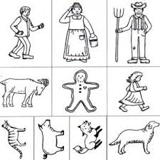 the gingerbread man coloring pages man rubber stamp set